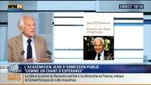 Jean d'Ormesson: L'invité de Ruth Elkrief - 27/06