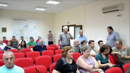 Δημοτικό Συμβούλιο  Παιονίας 26-06-14 Ερωτήσεις Πολιτών