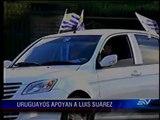 Llegada de Suárez a Uruguay