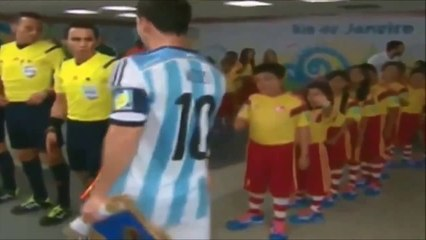 Leo Messi & Cristiano Ronaldo at World Cup 2014