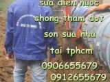 Sửa chữa chống thấm tại nhà Q4 HCM///0912655679