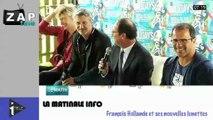 Zapping Actu du 01 Juillet 2014 - Hausse de la dette publique, les nouvelles lunettes de François Hollande