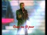 JOHNNY HALLYDAY - QUELQUES CRIS (Concert à la Tour Eiffel 2000)