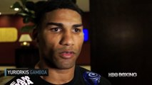 Yuriorkis Gamboa  HBO Boxing Video News Update