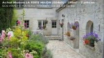 A vendre - maison - LA FERTE MILON (02460) - 7 pièces - 190m²