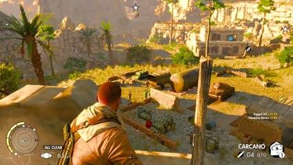 Sniper Elite 3 Co-op Walkthrough Ep.8   Mission #3: Halfaya Pass (Part 3) [PC HD]