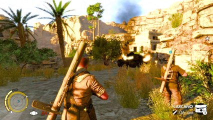 Sniper Elite 3 Co-op Walkthrough Ep.10   Mission #3: Halfaya Pass (Part 5) [PC HD]