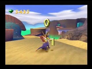 Frapsoluce Spyro 3 : Partie 18 - Ruines du désert