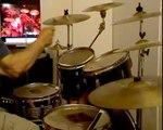 BLACK SABBATH-(ozzy osbourne)-PARANOID -live -drum cover