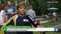 Moldovenii ştiu să jongleze cu mingea. Într-un parc din Chişinău a avut loc Campionatul Naţional de streetstyle