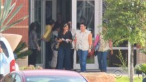 Honduran first lady tours crowded detention facility