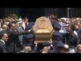 Napoli - I funerali dei poliziotti morti in incidente su A1 -live- (26.06.14)