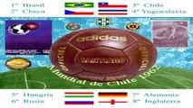 Mundial Chile 1962 World Cup - El rock del mundial - Composición Gráfica  (Primera canción oficial)