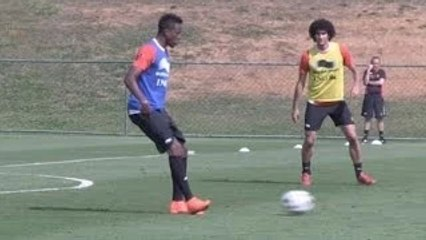 World Cup 2014 - Liverpool Target Origi Shows Some Nice Touches At Belgium Training