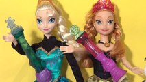 Disney Frozen Queen Elsa Musical Snow Wand with Princess Anna and Olaf dancing  lol  from Disney