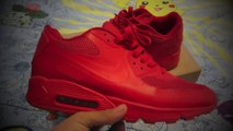 Cheap Nike Air Max Shoes free shipping,Replica Nike Air Max 90 Hyperfuse Solar Red