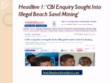 The Truth Behind The News Stories About Illegal Beach Mining In Tamil Nadu