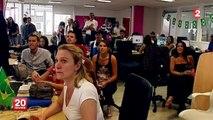 """Mondial : """"On peut aller au bout"""" se réjouit un employé après la victoire de la France"""