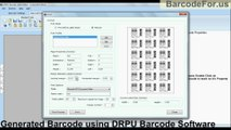 How to change Printing Settings of Barcode Sheets in DRPU Barcode Software