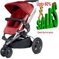 Clearance Quinny Buzz Xtra Stroller with Diaper Bag - Red Rumor Review