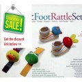 Discount Infantino Wrist (Frog & Duck) & Foot (Bunny & Cat) Rattle Set Review