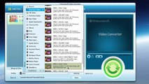 Mac FLV Converter convert flv to MP4, MOV, DV, AVI, etc.