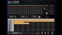 Dr Drum Beat Making Software - Make Sick Beats - Dubstep, Rap, Hip Hop