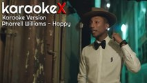 Pharrell Williams - Happy Karaoke Version (KaraokeX)