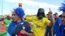 Mondial-2014: les supporteurs français exultent à Brasilia