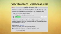 Evasion 1.0.8 iOS 7.1.1 JAILBREAK for iPhone 4S, iPad 3, iPod touch, iPhone 4/4S/5/5s/5c, Apple TV!!