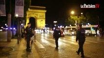 Mondial 2014. Les supporteurs sur les Champs-Elysées après l'élimination de l'Algérie
