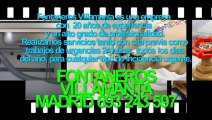 Fontaneros Villamanta BARATOS Madrid. TLF. 693-243-597