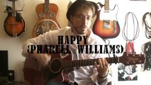Happy (Pharell Williams) Cours guitare + TABS
