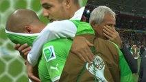 Les larmes de Feghouli et Halilhodzic après Allemagne-Algérie
