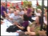 Silivri zindanlarını yıkan vatan nöbetçileri son kez nöbet tuttu