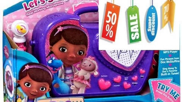 Discount KIDdesigns Doc McStuffins Rockin' Doc Sing-Along Boombox Review