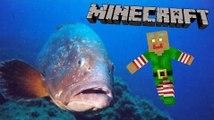 Minecraft : IL EST PAS FRAIS MON POISSON ?!