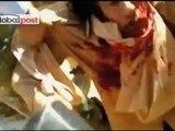 President of Libya Muammar al-Gaddafi Brutally beaten before being shot - Bakwas