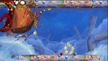 Rayman Origins - Grottes grognonnantes - Niveau 6 : Le boss sifflera trois fois