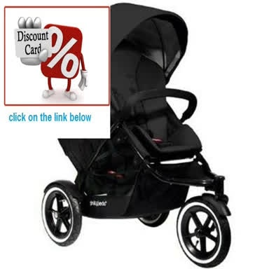 Clearance Phil and Teds Navigator Stroller with Doubles Kit (Black) Review