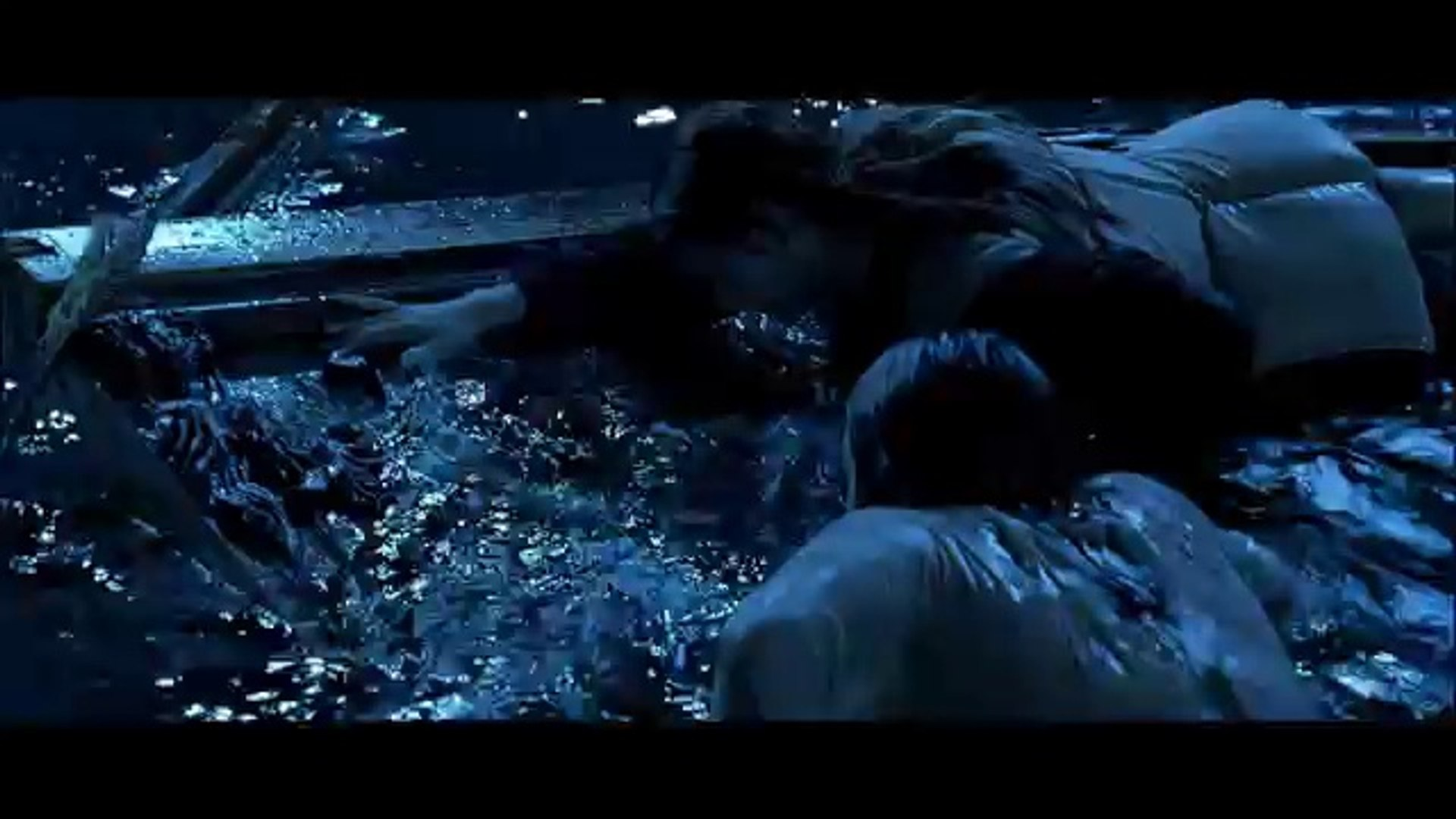 Titanic, 1997 (Deleted scene_ Extended Jack and Rose in Water) [HD 1080p]