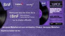 Jacques Metehen et son orchestre, Chœur Jacques Metehen - Naples au baiser de feu
