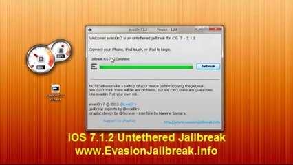 EASY iOS 7.1.2/7 UNTETHERED Jailbreak - iPhone 5,4S,4,3Gs iPod 5,4 & iPad mini,4,3,2