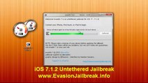 FULL Untethered ios 7.1.2 jailbreak Released iPhone iPad iPod Releases
