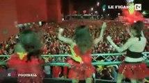 Bruxelles se transforme en boîte de nuit géante pour fêter les Diables Rouges