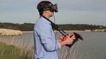 Parrot Bebop Drone - Skycontroller Oculus coming soon