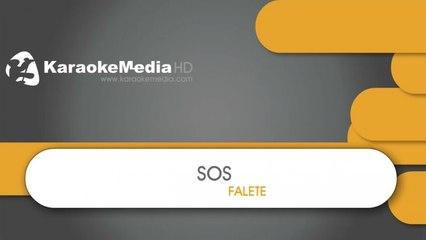 SOS - Falete - KARAOKE HQ