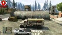 GTA ONLINE   Camion militaire   Crew VS Base Militaire ! [FR-HD]