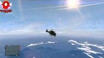 GTA 5 |  Red Bull  - Saut de l'espace en parachute avec Trevor [FR-HD]