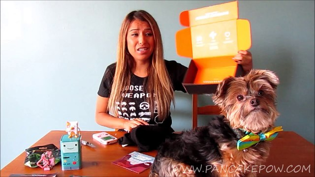 May 2014 Loot Crate Unboxing by Baby Pancakes